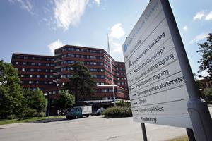S:t Görans sjukhus i Stockholm som skrev ut Kalle samma kväll som han försökt ta självmord.