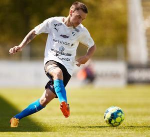 Silfwer inledde årets säsong i Superettan med Hamstad. Bild: Andreas Hillergren/TT.