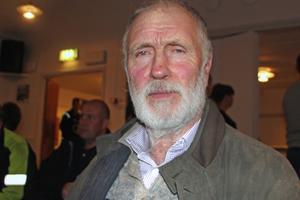 Lars Matsson är jägare och lantbrukare. Han har jagat vildsvin