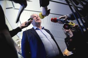 Vänsterpartiets partiledare, Jonas Sjöstedt, avgår under kongressen i vår. Foto: Janerik Henriksson / TT