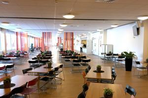 Restaurangen ligger mitt i anläggningen som består av tre olika arenor.