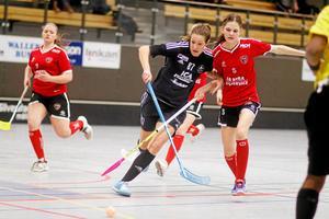 Kajsa Lasses låg bakom två av Silverstadens tre mål mot Örebro. Foto: Mikael Stenkvist
