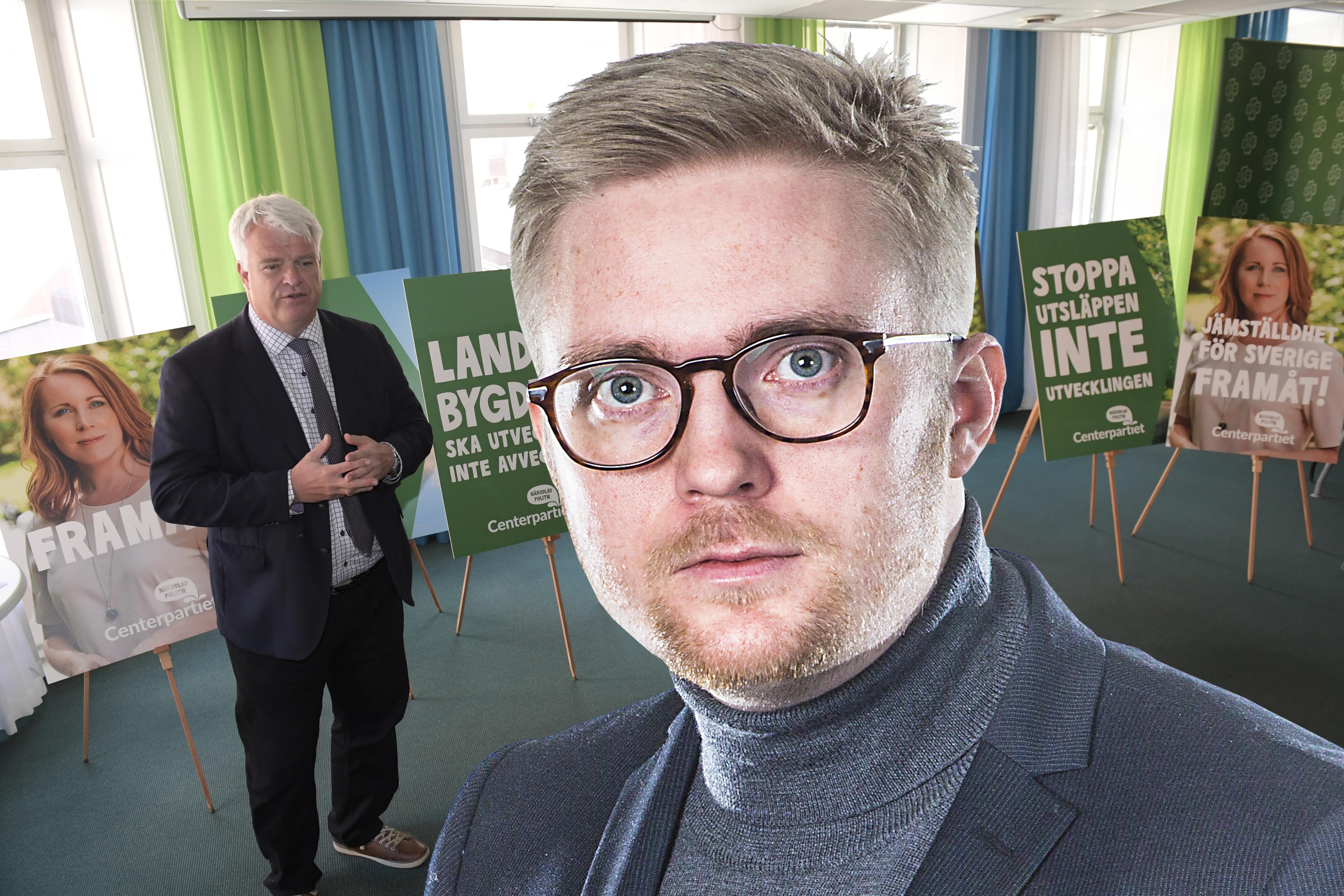 Centerpartiet i estland splittras