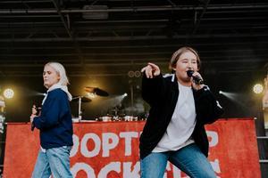 Upplopp var förband till Sveriges största hiphopexport, Looptroop Rockers, denna sommar på Västerås Officersmäss.