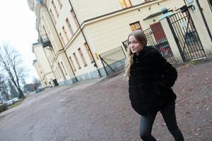 Camilla Skalleberg studerar mäklarlinjen på Högskolan i Gävle.
