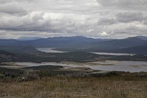 Styrelsen för Mellanskog träffades på Tännäskröket för att få utsikt över brukad fjällnära skog.
