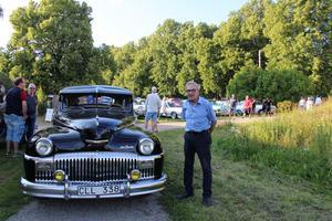 Bilen återställd och klar. Bengt-Olov Stark har en likadan hemma som är dubbelt så gammal. Hans problem med bilen drog mycket uppmärksamhet bland åskådarna.