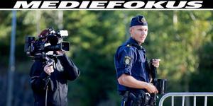 Inspelning av Kanal 5:s realityserie Södertäljepolisen. Foto: Marion Palm