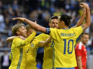 Får Sverige jubla efter matchen mot Italien i dag?