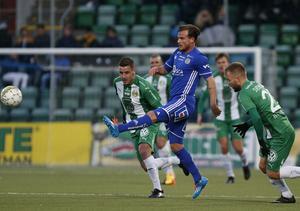 GIF Sundsvall hade full kontroll på matchen mot Hammarby under 20 minuter, sedan tog gästena över.