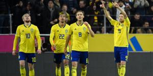 Marcus Berg gjorde Sveriges enda mål när det blev oavgjort mellan Sverige och Spanien.
