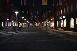 Pizzerian Brochet ligger på gågatan i centrala Avesta.