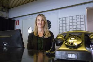 Sofia Sahlberg har tillbringat många år i receptionen på First Hotel Statt i Söderhamn. Nu tar hon nästa steg i karriären och blir hotellchef.