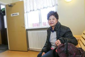 Solissa Prathee Pchuang i Sveg tar ofta Snötåget när hon ska åka, antingen norrut eller söderut.