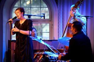 Sinne Eeg Group på Jazzklubben i Sundsvall.
