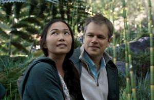 Foto: Paramount Pictures/APHong Chau och Matt Damon i en scen från filmen
