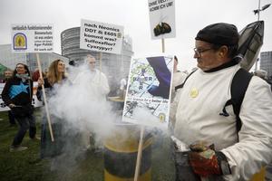 En vecka med Europaparlamentet i Strasbourg är som att befinna sig i en kokande gryta, skriver Jytte Guteland. På bilden: Europeiska bönder som kräver minskade bidrag till de största jordbruken.
