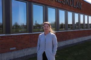 Karin Jern Karlsson, lärare på Katedralskolan som ser positivt på digitaliseringsarbetet.