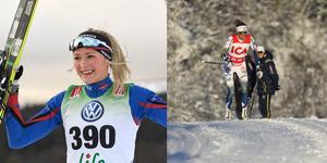 Frida Karlsson under landslagets testtävling i Bruksvallarna. Resultaten därifrån håller de dock för sig själva. En första indikation på hur åkarna ligger till får vi andra vänta på till Sverigepremiären i Gällivare nästa helg.