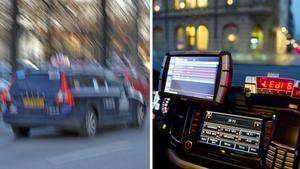 Ge oss taxiförare bättre förutsättningar så att vi kan hålla hastighetsgränserna, vädjar signaturen Gul bil. Bilder: Bertil Ericson/TT / Håkan Humla