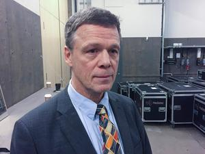 Martin Strid (SD), som nu begärt utträde ur partiet. Foto: Lars Larsson/TT