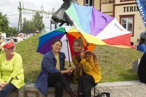 Alice och Maja Rosén är flyttade med sina föräldrar till Järvsö för några år sedan. Deras mamma har varit med och anordnat festivalen.