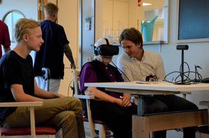 Responsen har varit positiv hos Sundsvalls äldreboenden. Under onsdagen besökte de äldreboendet Norra kajen.