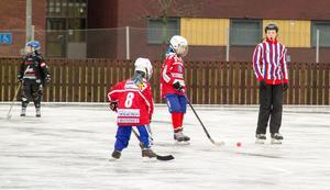 KIS P10-lag under spel på Krillan.
