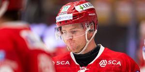 Sebastian Ohlsson har haft svårt att producera, men han får stöd från sportchefen Kent Norberg. Bild: Pär Olert/Bildbryån