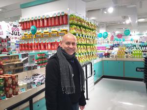 Detta var butiksöppning nummer 32 för Normals vd Carsten Hansen. Det var den andra butiken i Västerås.