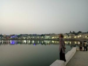 Enligt Tommie fanns det under resan många vackra platser. Den här bilden är fotograferad i Indien. Foto: Privat