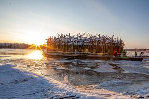 Pressbild från Arctic bath. Foto Anders Blomqvist