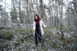 Lina Gustafsson planerade inte att skriva en bok när hon började som veterinär på slakteriet.