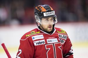 Jonathan Andersson väntar på första målet i SHL. Kommer det mot Frölunda? Bild: Andreas Sandström/Bildbyrån