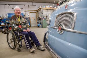 I fem års tid har Rune Axelsson renoverat en Fiat Multipla. Nu är den i ett skick som förmodligen är bättre än när den i slutet av 50-talet anlände till Sverige från Italien.