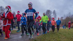 Arkivbild från Örebro parkrun den 23 december 2017. Foto: Jimmy Glinnerås