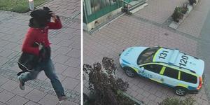 Rånarna flydde efter rånförsöket men greps strax efter av polis. Bilder: Polisens förundersökning