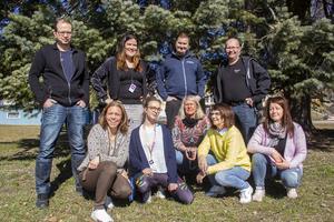 Tommy Algotsson, Pernilla Röjehag, Joel Sundström, Lars Björk, Helene Grenedal, Maya Hildensjö, Maria Nordin, Monica Hylander och Carina Persson är fritidsledarna som arrangerar årets Camp Hälsingland.