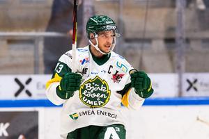 Fredric Andersson gjorde fyra poäng i premiärmatchen mot Karlskrona. Bild: Magnus Lejhall/Bildbyrån