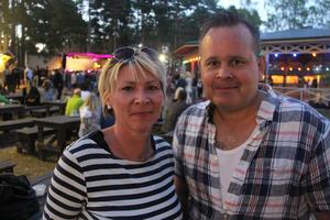 Maria Jansson och Dan Eriksson kom från Östervåla och hade inte varit på Ön på ett stort antal år.