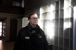 Linda Gavell, krematorieföreståndare för krematoriet i Gävle.