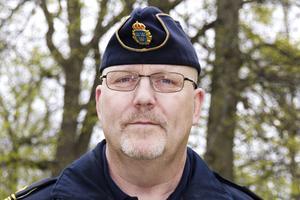 Christer Öhrlund, kommunpolis, säger att de båtrelaterade anmälningarna har ökat de senaste åren. Foto: Erik Inge.