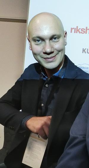 Johan Fryksborn, uthyrare på Diös.