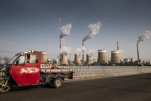 Ett kinesiskt kolkraftverk.FOTO: Magnus Hjalmarson Neideman/SvD/TT