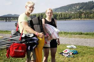 Fredrik Melby och Erika Elfstrand tyckte att Graveyard var det bäst på festivalen.