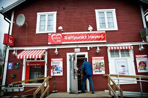 Butiken i Överturingen är en av vinnarna i Ånge kommun när stödet till lanthandlarna permanentas.Foto: Sara Linderoth
