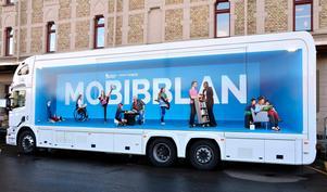 Mobibbland - ett av skälen till att Sundsvalls bibliotek lyckats bra med uppdraget att nå fler medborgare.