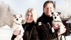 Heléne och Berth-Ola Lundqvist, som båda sedan länge jobbar på Stora Enso Fors Bruk, fann kärleken för 20 år sedan.