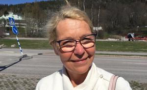 Carina Harlin, 55+, tandsköterska, Bergeforsen: