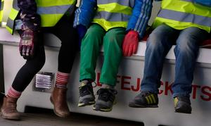 Ger förskoleklassen barnen en tydlig och bra övergång, eller är det tvärtom? Foto Hasse Holmberg / TT